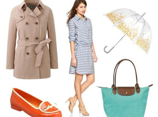 Tips Fashion Saat Musim Hujan Disertai Gambar 6 - tas dan Sepatu padu padan