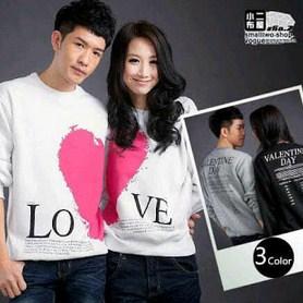 Contoh Baju Couple Valentine Terbaru dan Tips Memilih 2 - Warna Netral