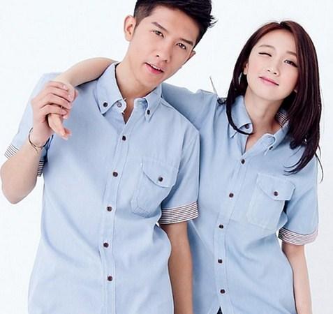 Contoh Baju Couple Valentine Terbaru dan Tips Memilih 4 - Kemeja Couple