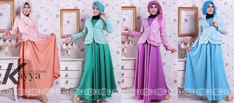 Contoh Model baju Muslim Modern 2020 8 - kumpulan baju muslim remaja untuk pesta