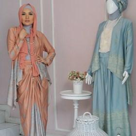 Tips Memilih Padu Padan Baju Muslim Pesta Terbaik 2 - Dua Warna