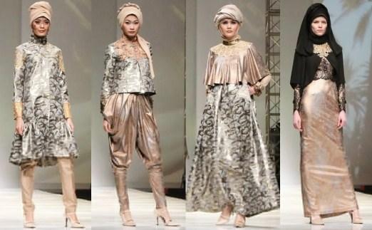 Baju Muslim Trendy untuk Anak Muda Terkini 10 - Kumpulan busana muslimah modern tren terbaru