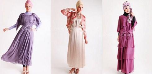Baju Muslim Trendy untuk Anak Muda Terkini 9 - Busana Muslim Pesta