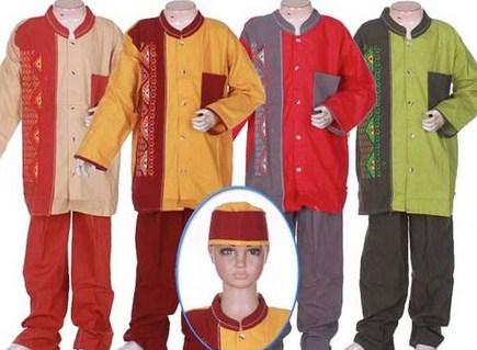 Contoh Baju Muslim Anak Keren Model Terbaru 2020 6 - baju Muslim anak laki-laki paling keren