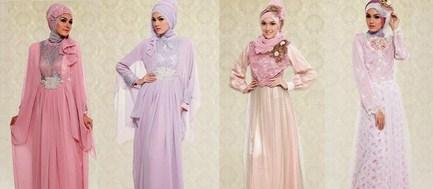 Contoh Desain Baju Muslim Wanita Masa Kini Oke 7 - Koleksi foto busana muslim ke pesta