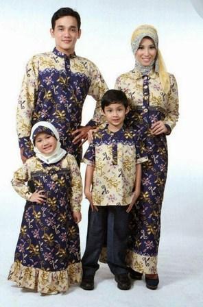 Contoh Model Baju Batik Muslim Anak Terbaru dan Terbaik 3 - Batik Modern Anak-anak