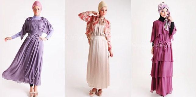 Gambar Contoh dan Model Baju Muslim Pesta Terbaru 4 - Kumpulan Baju Pesta Islami