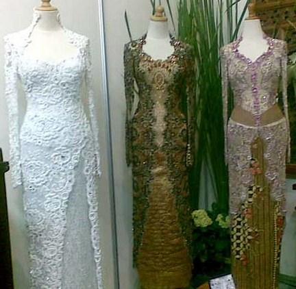 Contoh Baju Muslim Model Kebaya Modern Terbaik 6 - Kebaya Buat Resepsi Pernikahan dan Model HIjab