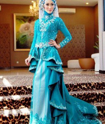 Contoh Baju Muslim Model Kebaya Modern Terbaik 9 - Kebaya Modern Tumpuk