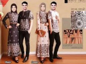 Contoh Model Baju Muslim Couple Populer 2015 6 - Modern dan Trendy