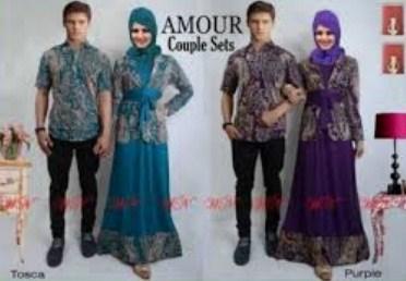 Contoh Model Baju Muslim Couple Populer 2018 8 - Blazer Buat Muslimah