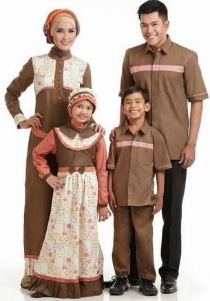 Contoh Model Baju Muslim Lebaran Idul Fitri Terbaru 10 - Keluarga Kompak