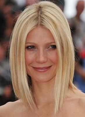 Model Rambut Bob Lurus Sebahu Terbaru Oke 7 - Ujung Runcing Blonde