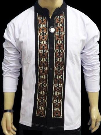 Contoh Gambar Model Baju Muslim Pria Terbaru 2019 1 - Baju Koko Modern