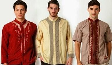 Contoh Gambar Model Baju Muslim Pria Terbaru 2015 13 - Baju Koko ala Para Model Terbaru