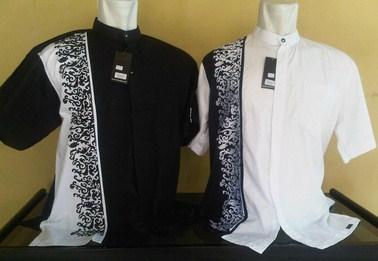 Contoh Gambar Model Baju Muslim Pria Terbaru 2015 17 - Desain Baju Koko HItam Putih Oke