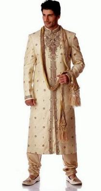 Contoh Gambar Model Baju Muslim Pria Terbaru 2015 9 - Baju Muslim Lelaki ala India Keren