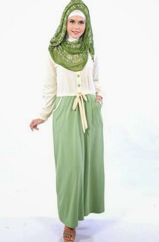Gambar Model Baju Muslim Gaul Masa Kini 2018 1 - Populer plus model hijabnya