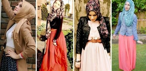 Gambar Model Baju Muslim Gaul Masa Kini 2015 11 - Koleksi Foto Busana dan Gamis Muslim Gaul Terbaru