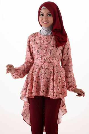 Gambar Model Baju Muslim Gaul Masa Kini 2018 8 - Baju Muslim Model Terbaru untuk Anak Muda dan Remaja