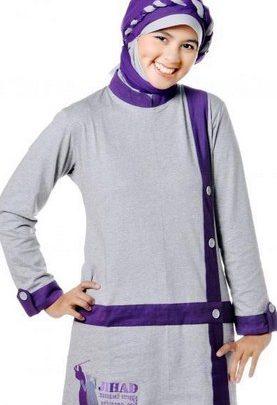 Koleksi Foto dan Contoh Model Trend Baju Senam Muslim 5 - Olahraga Trendy dan Masa KIni
