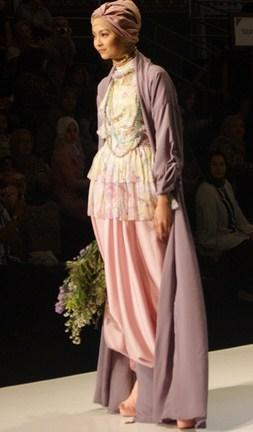 Model Baju Gamis Muslim Pesta Terbaru 2018 10 - Gaun dan Model Hijab Pesta terbaru Oke