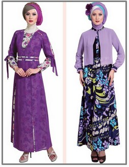 Model Baju Gamis Muslim Pesta Terbaru 2020 2 - Paling Populer