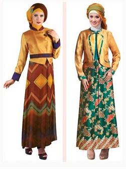 Model Baju Gamis Muslim Pesta Terbaru 2018 4 - Batik Baju Muslimah Paling Oke