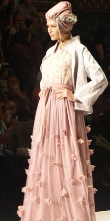 Model Baju Gamis Muslim Pesta Terbaru 2020 9 - Gambar Baju dan Bawahan Terbaru muslimah