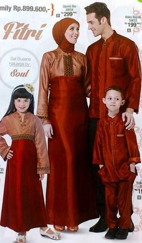 Model Baju Keluarga Muslim Couple Terbaru 11 - Cocok Buat Idul Fitri dan Idul Adha Anggun
