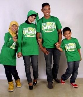 Model Baju Keluarga Muslim Couple Terbaru 6 - Kaos Santai Muslim Buat Olahraga