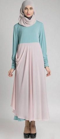Model Desain Baju Hamil Muslim Buat Lebaran 10 - Model Foto Trendy untuk Lebaran