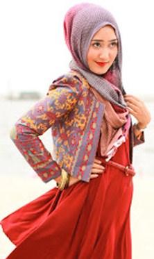 Model Desain Baju Hamil Muslim Buat Lebaran 11 - Model Terbaru ala Dian Pelangi