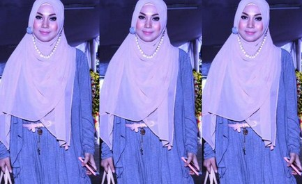 Model Desain Baju Hamil Muslim Buat Lebaran 3 - Gaya fashion saat Hamil ala Puput Melati
