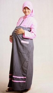 Trend Model Busana Baju Hamil Muslim Paling Baru 1 - Busana Muslim Gamis saat Hamil