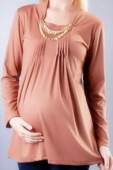 Trend Model Busana Baju Hamil Muslim Paling Baru 5 - Baju Hamil Islam Kalem Modern