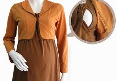 Trend Model Busana Baju Hamil Muslim Paling Baru 8 - Baju Hamil dan Menyusui Terbaru untuk Ibu Muslim
