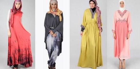Trend Model Busana Baju Hamil Muslim Paling Baru 9 - Tetap Modis saat Hamil dengan Gamis biasa yang Longgar