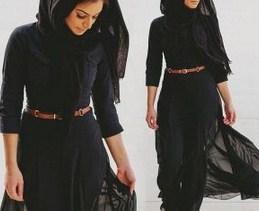 Tutorial Hijab Segi Empat Formal untuk ke Kantor 2 - Jilbab Simpel