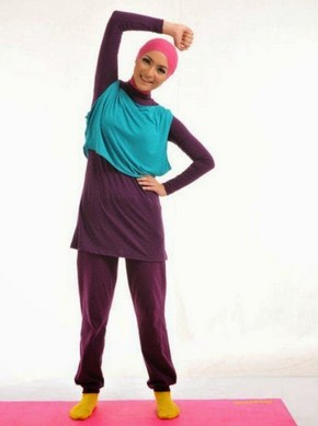 Gambar Baju Senam Muslim 2020 Terbaru 6 - baju Senam Indoor