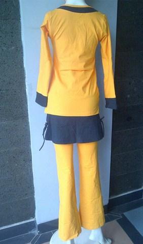 Gambar Model Pakaian Senam Terbaru dan Oke 4 - Desain Kaos Muslimah Senam Terbaru