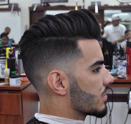 Gaya Rambut Pria 2016 2017 yang Menarik untuk Dicoba 2 - Side Line Hairstyle