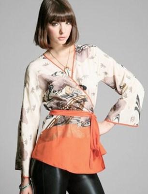 Jenis Fashion Baju Wanita, Be a Trendsetter 1 - Kimono Blouse