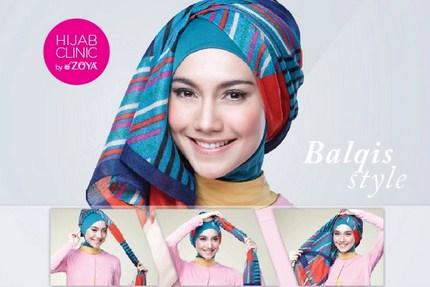 Kumpulan Cara Memakai Hijab Zoya untuk Tampil Stylish! 1 - Balqis Style