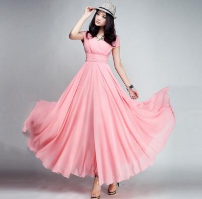 Yuk, Tampil Anggun dengan Baju Long Dress Cantik Ini!
