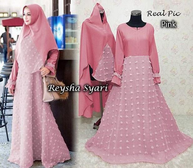 4 Model Baju Muslim Terbaik yang Bakal Booming Tahun 2020 1441 H - 13 Baju Muslim Rubiah