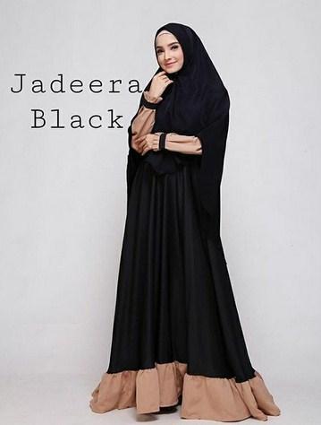 Gambar Baju Muslim Terbaik Kombinasi 2 warna yang Bakal Booming Tahun 2019 1440 H - 3