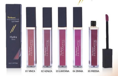 Harga Lipstik Purbasari dan Warna Lengkap 2 - Hi Matte Lip Cream