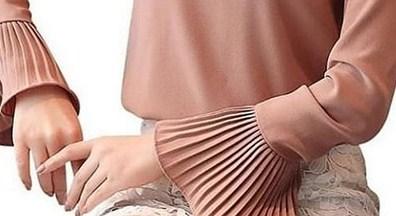 Model Baju Muslim Terbaik Berlengan Payung yang Bakal Booming Tahun 2020 1441 H - 2