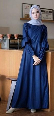 Model Baju Muslim Terbaik Berlengan Payung yang Bakal Booming Tahun 2019 1440 H - 4